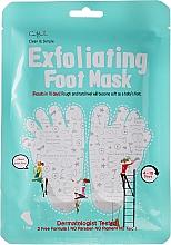 Perfumería y cosmética Exfoliante para pies con vitamina E y D-pantenol - Cettua Exfoliating Foot Mask