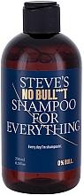 Perfumería y cosmética Champú para hombres con extracto de aloe vera - Steve?s No Bull***t Shampoo for Everything