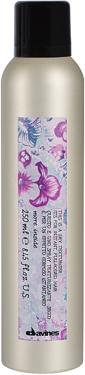 Spray texturizante seco de cabello - Davines More Inside This Is A Dry Texturizer — imagen N1