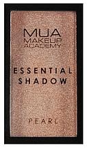Perfumería y cosmética Sombras de ojos altamente pigmentados - MUA Essential Shadow Pearl