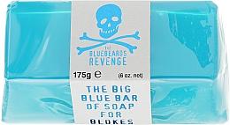 Perfumería y cosmética Jabón de glicerina para rostro y cuerpo con ácido láctico - The Bluebeards Revenge Big Blue Bar Of Soap For Blokes