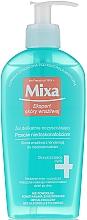 Perfumería y cosmética Gel limpiador facial hipoalergénico sin jabón - Mixa Sensitive Skin Expert Cleansing Gel