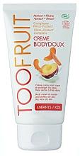 Perfumería y cosmética Crema corporal piel seca con extracto de albaricoque y melocotón - TOOFRUIT Cream Body Doux