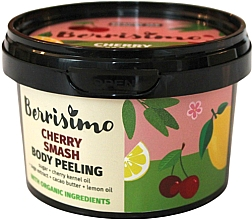 Perfumería y cosmética Peeling corporal con aceites de cereza y limón - Berrisimo Cherry Smash Body Peeling