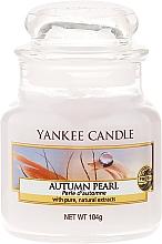 Perfumería y cosmética Vela en tarro con aroma a orquídea rosada & fresia - Yankee Candle Autumn Pearl