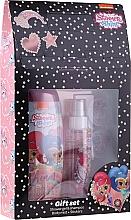 Perfumería y cosmética Set infantil (gel de ducha/250ml+ bruma corporal/110ml + stickers) - Uroda Polska Shimmer Shine Gift Set