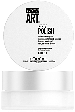 Perfumería y cosmética Gel-cera para definición y brillo, fijación media - L'Oreal Professionnel Tecni.Art Fix Polish Gel-Wax