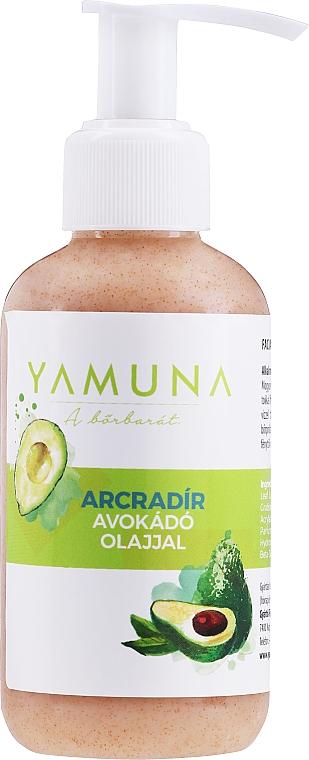 Exfoliante facial con aceite de aguacate y almendras - Yamuna Face Scrub With Avocado Oil and Ground Almond