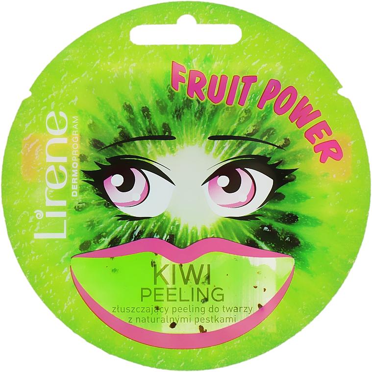 Mascarilla facial exfoliante con extracto de kiwi - Lirene Fruit Power