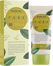 Perfumería y cosmética Crema BB antiarrugas con extracto de té verde - FarmStay Green Tea Seed Pure Anti-Wrinkle BB Cream