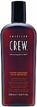 Perfumería y cosmética Champú de uso diario con extracto de romero - American Crew Power Cleanser Style Remover