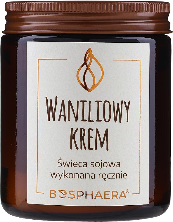 Vela aromática de soja, Crema de Vainilla - Bosphaera Vanilla Cream Candle