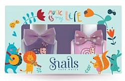 Perfumería y cosmética Set esmalte de uñas infantil, lavable y no tóxico - Snails Mini Bebe Music Is My Life (2uds.x10,5ml)