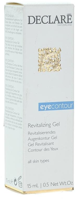 Gel contorno de ojos revitalizante con glicerina - Declare Revitalising Eye Contour Gel — imagen N1