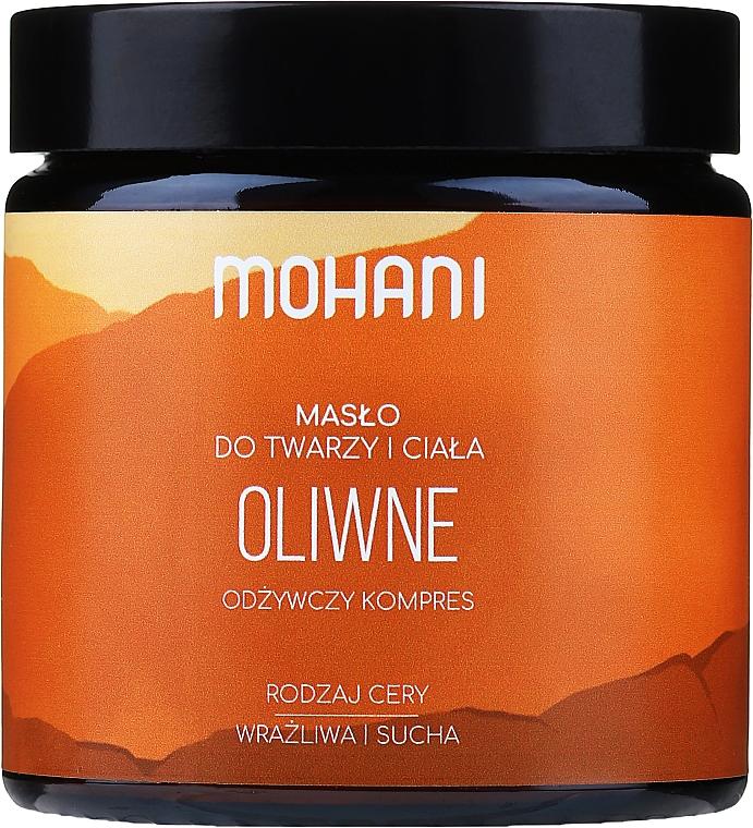 Manteca corporal y facial con oliva - Mohani Olive Rich Butter — imagen N1
