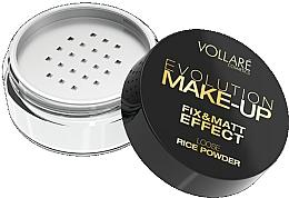 Polvo suelto fijador de maquillaje, efecto mate - Vollare Cosmetics Evolution Make-up Rise Powder — imagen N3
