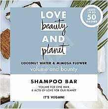 Perfumería y cosmética Champú sólido para volumen con agua de coco y mimosa - Love Beauty And Planet Coconut & Mimosa Shampoo