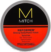 Perfumería y cosmética Gel texturizante de cabello, fijación fuerte, acabado mate - Paul Mitchell Mitch Reformer Texturizer
