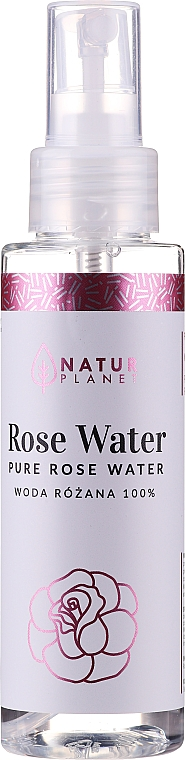 Agua de rosas hidratante - Natur Planet Pure Rose Water