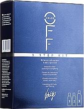 Perfumería y cosmética Kit removedor de color artificial del cabello total o parcial - Vitality's Color Off 3 Step Kit
