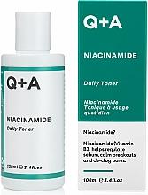 Perfumería y cosmética Tónico facial con niacinamida - Q+A Niacinamide Daily Toner