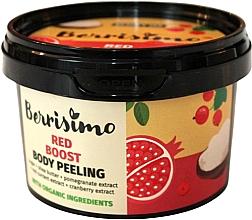 Perfumería y cosmética Peeling corporal con extractos de granada y arándano rojo - Berrisimo Red Boost Body Peeling