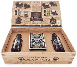 Perfumería y cosmética Dear Barber Collection II Groom & Go - Set para barba (aceite/30ml + cera/25ml + edt/30ml)