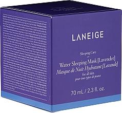 Perfumería y cosmética Mascarilla facial hidratante de noche con lavanda - Laneige Water Sleeping Mask Lavender