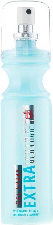 Gel spray para cabello con extracto de bambú - Tenex Hegron Gel-Spray Extra Volume