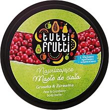 Perfumería y cosmética Manteca corporal con aroma a pera & arándano rojo - Farmona Tutti Frutti Pear Body Butter