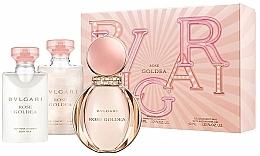 Perfumería y cosmética Bvlgari Rose Goldea - Set (eau de parfum/50ml + leche corporal/40ml + gel de ducha y baño/40ml)