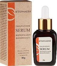 Perfumería y cosmética Sérum facial bifásico con aceite de rosa mosqueta y ácido hialurónico - Bosphaera Serum