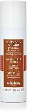 Perfumería y cosmética Aceite corporal de protección solar con extracto de lupino y vitamina E - Sisley Super Soin Solaire Summer Body Oil SPF15