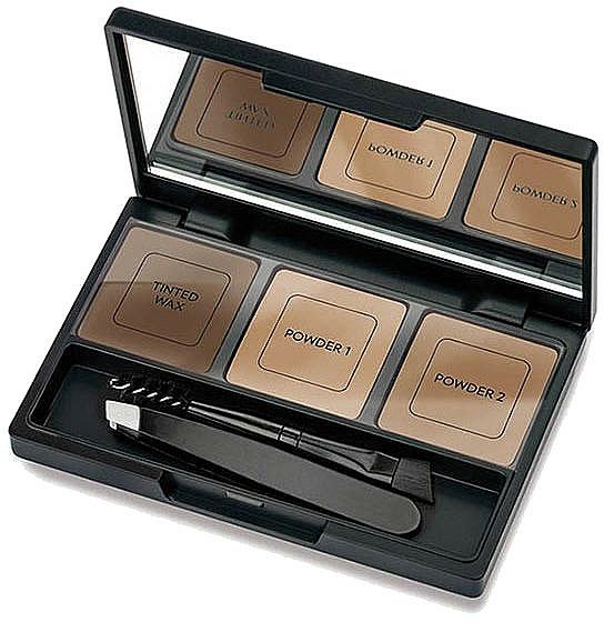 Kit para cejas con pinzas, aplicador y espejo - Golden Rose Eyebrow Styling Kit