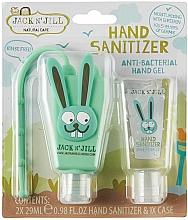 Perfumería y cosmética Set gel higienizante de manos antibacteriano sin alcohol, conejito - Jack N' Jill Hand Sanitizer (Bunny)