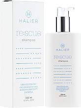 Perfumería y cosmética Champú reparador de cabello - Halier Re:scue Shampoo