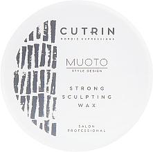Perfumería y cosmética Cera para moldeado de cabello corto de fijación fuerte - Cutrin Muoto Strong Sculpting Wax