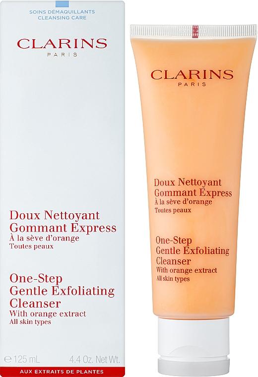 Exfoliante facial con extracto de naranja - Clarins One-Step Gentle Exfoliating Cleanser — imagen N2