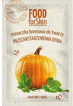 Mascarilla facial con extracto de calabaza - Marion Food for Skin Cream Mask Anti-age Pumpkin
