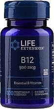 Perfumería y cosmética Complemento alimenticio en cápsulas de vitamina B12, 500 mcg. - Life Extension B-12