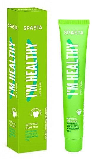 Pasta dental natural - Spasta I Am Healthy Toothpaste