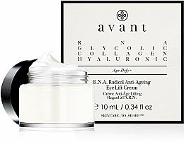 Perfumería y cosmética Crema antiedad para contorno de ojos con ácido hialurónico y colágeno - Avant R.N.A. Radical Anti-Ageing Eye Lift Cream
