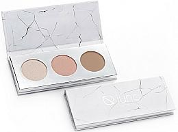 Perfumería y cosmética Paleta para contorno de maquillaje vegana (iluminador, colorete y bronceador) - Iuno Cosmetics