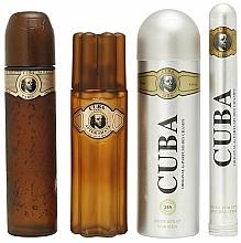 Cuba Gold - Set (eau de toilette/100ml + eau de toilette/35ml + loción aftershave/100ml + desodorante/200ml) — imagen N4