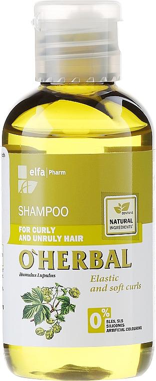 Champú para brillo con extracto de lúpulo & aceite de oliva - O'Herbal