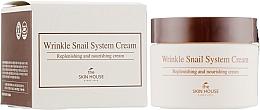 Perfumería y cosmética Crema facial antiarrugas con baba de caracol - The Skin House Wrinkle Snail System Cream
