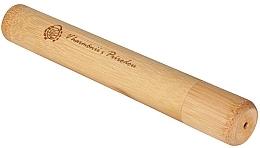 Perfumería y cosmética Estuche de viaje de bambú para cepillo dental - Curanatura