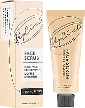 Perfumería y cosmética Exfoliante facial natural con cafeína y aceite de flores - UpCircle Coffee Face Scrub Floral Blend