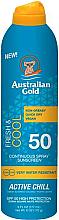 Perfumería y cosmética Spray protector solar - Australian Gold Fresh & Cool Continuous Spray Sunscreen Spf50