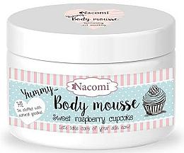 Perfumería y cosmética Mousse corporal con karité y aceite de inca inchi, aroma a frambuesa - Nacomi Body Mousse